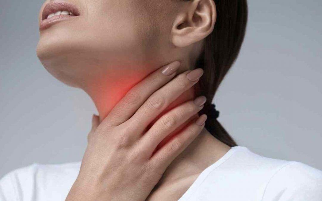 Garganta: dolor al tragar (por anginas/amigdalitis o faringitis) —Completo—