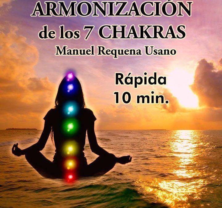 Armonización de los 7 Chakras